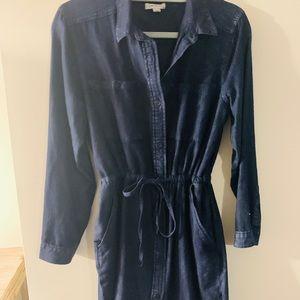 Calvin Klein denim button up dress